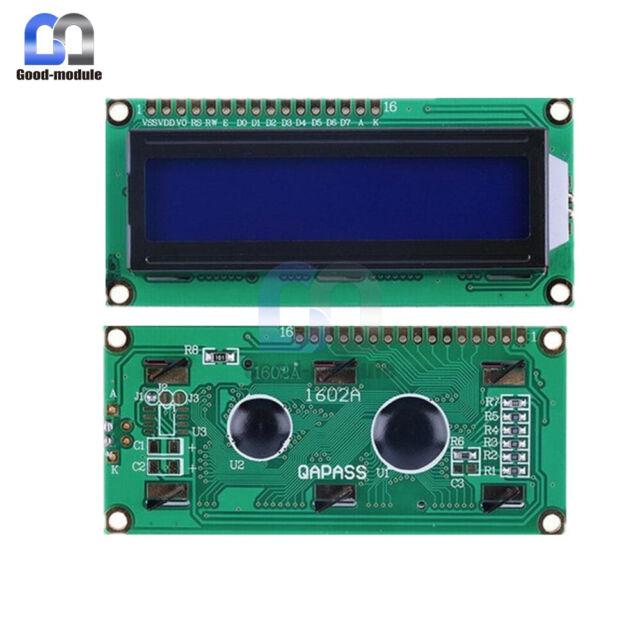 10PCS New  1602 16X2 HD44780 Character LCD Module Display LCD Blue Blacklight
