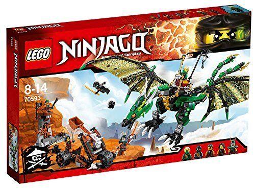 LEGO® NINJAGO Der Grüne Energie-Drache Kinder Spielzeug Jungen Figuren