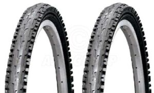 2-Bicycle-Tyres-Bike-Tires-Black-Mountain-Bike-26-x-1-95-High-Quality