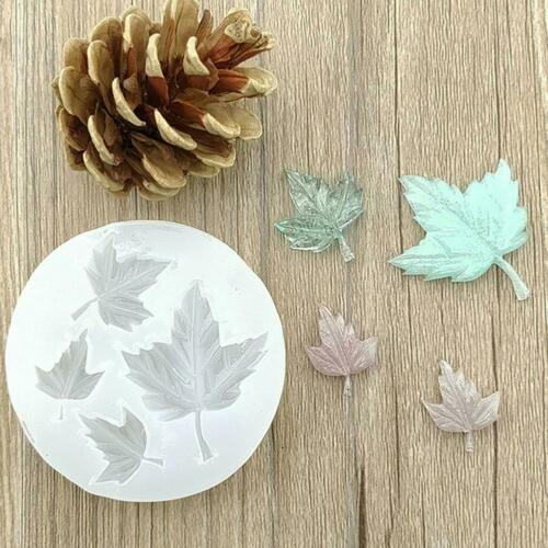 Maple Leaf  Silicone Mold Craft Mould Resin Necklace Jewelry Pendant  DIY Making