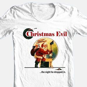 e8d10750fa A imagem está carregando Christmas-Evil-T-shirt-Frete-Gratis-Retro-Filme-
