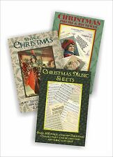 Public Domain 3 DVD Christmas collection inc pictures, poems, verses and music
