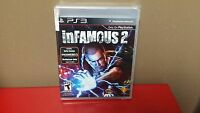 Playstation 3 Ps3 Game Infamous 2 Brand & Factory Sealed