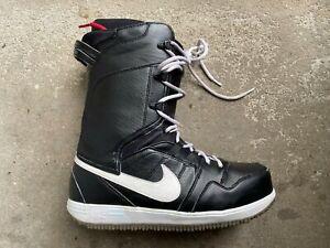 ensillar Inclinado toma una foto  Sz12 Nike SB VAPEN Snowboard Boots 447125 - Black/White - Good condition  886668145426 | eBay