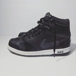 Men s Sz 8 Nike Prestige IV Dunk High Basketball Sneakers Black ... 167957325d