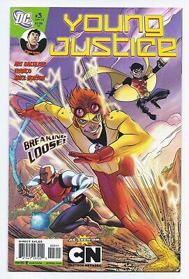 Dc Comics Young Justice 3 June 2011 Cartoon Network Animated