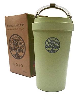 RedBreast Ecomug Reusable Wheat Straw Eco-Friendly 280ml Travel Mugs