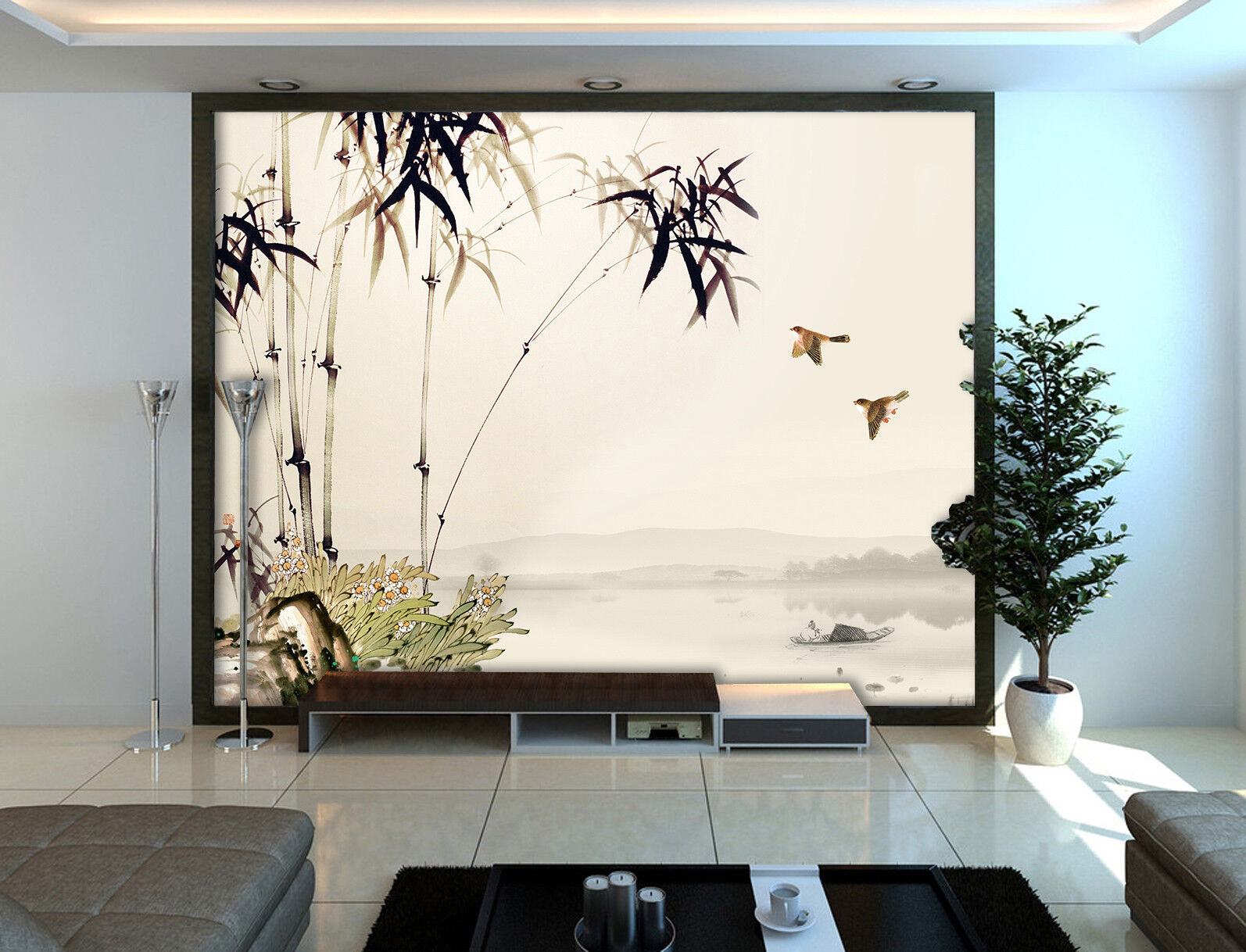 3D Bamboo 42 Wallpaper Murals Wall Print Wallpaper Mural AJ WALL AU Kyra