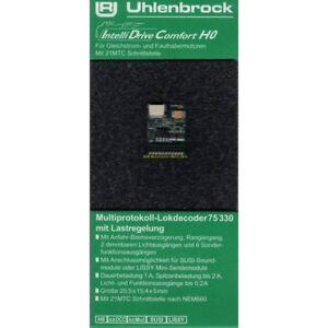 **Uhlenbrock 75330 IntelliDrive Comfort H0 Decoder 21polig,SUSI/LISSY, Neu OVP**
