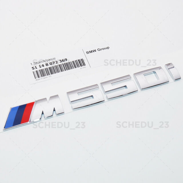 New Genuine BMW 5 Series G30 Rear Trunk Tailgate M550I Lettering Emblem