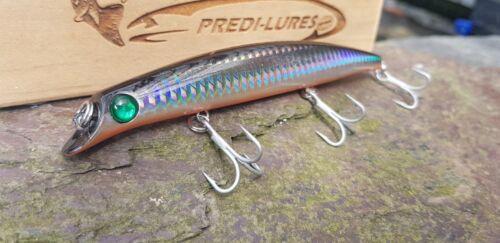 Bass Lure PLKD5326 120mm 15g 0.2-0.5m dive Slim Shore minnow vmc hooks long cast
