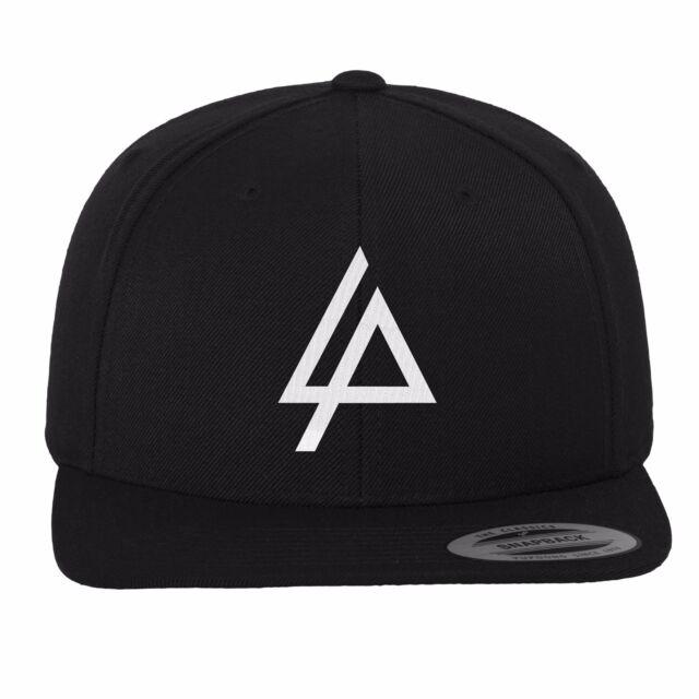 f80a8f4cb84 Merch Code Linkin Park Logo Snapback Cap Black 6 Panel Yupoong Flexfit Cap  Hat