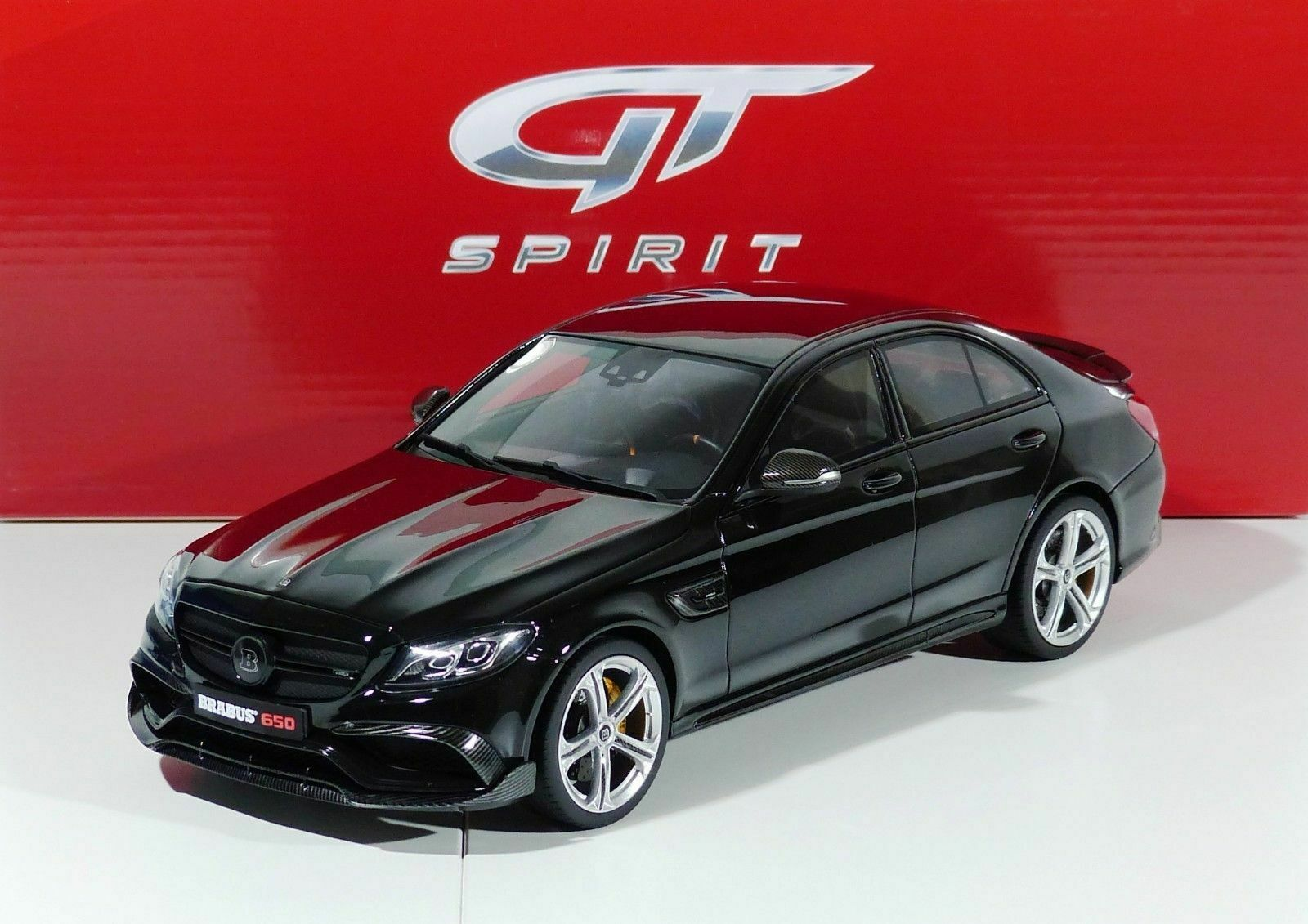 MERCEDES BRABUS 650 BITURBO C63 SEDAN  2016 GT132 GT SPIRIT LIMITED EDITION 1 18