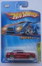 2005 Hot Wheels First Edition 2005 Ford Mustang GT 6/20 (Chrome Base Version)