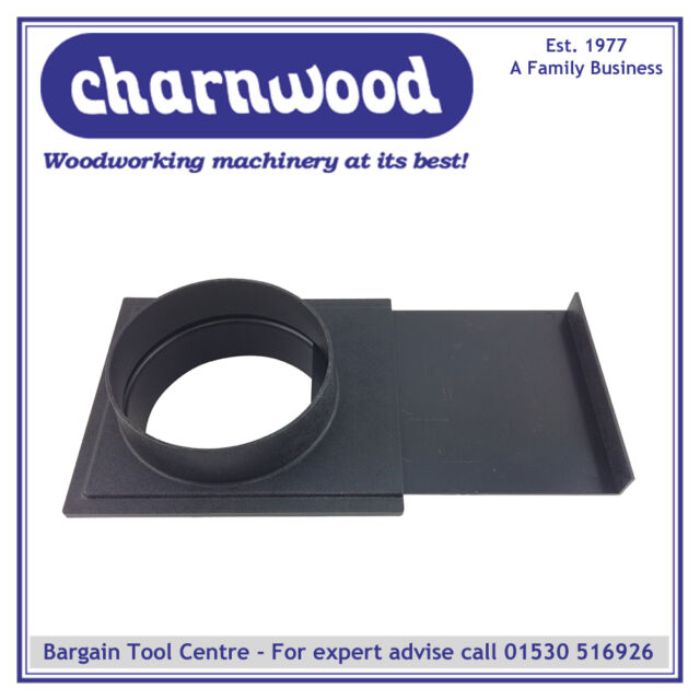 CHARNWOOD 125G 125MM DIAMETER BLAST GATE FOR WOODWORKING DUST EXTRACTION HOSE Other Power Tools Power Tools