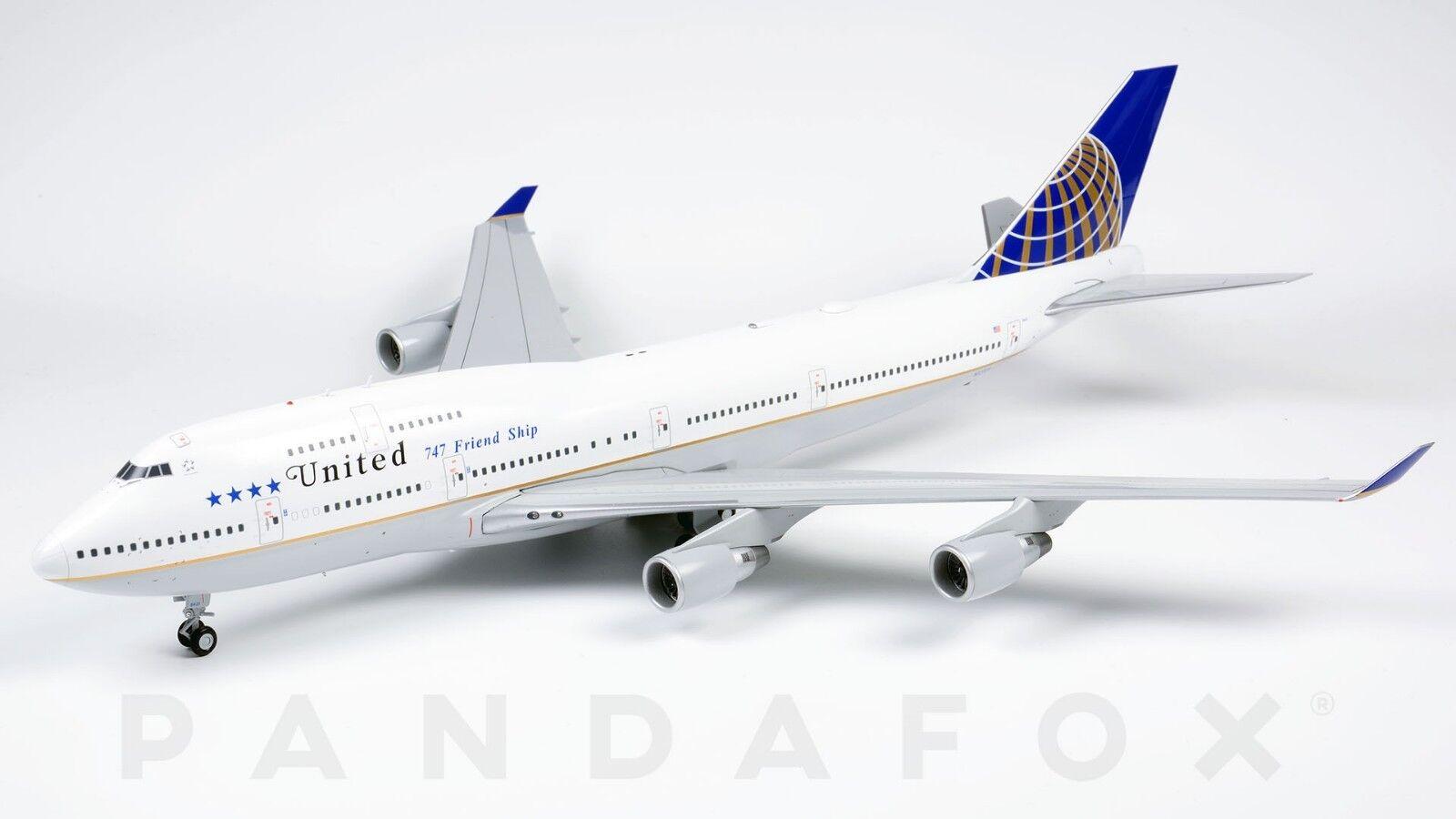 promociones United amistad JC Wings Boeing 747-400 N121UA N121UA N121UA JC2UAL204 XX2204 escala 1 200  hasta un 50% de descuento