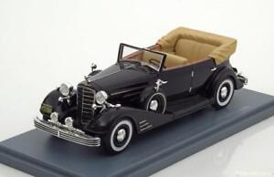 CADILLAC-FLEETWOOD-ALLWEATHER-PHAETON-OPEN-1933-BLACK-NEO-45769-1-43-CABRIOLET
