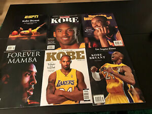 Kobe Bryant Magazine Set New Espn Sports Illustrated La Times Special Editon Ebay