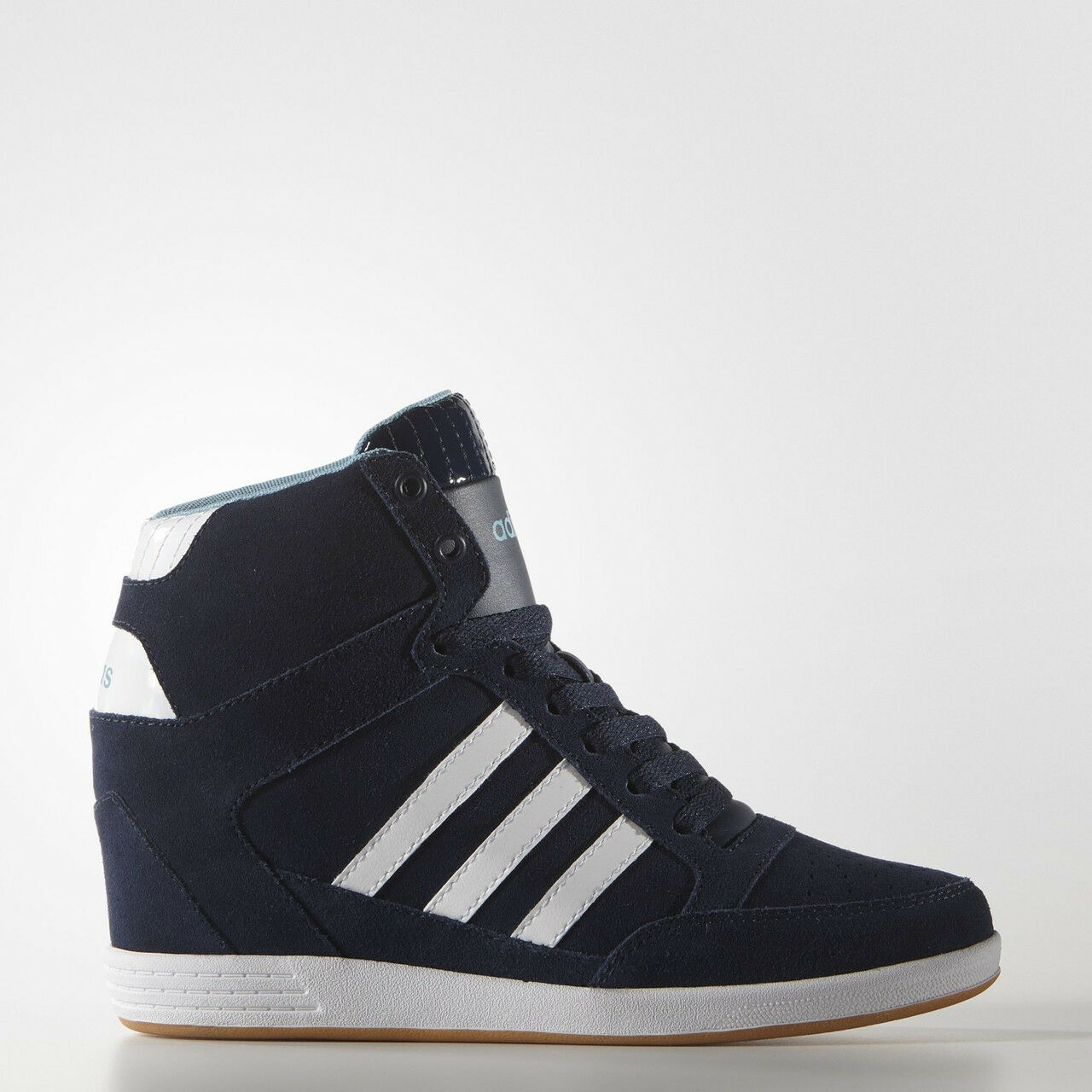 ADIDAS HIGH TOP blueE COMFORT SUEDE WEDGE SHOES SHOES SHOES BOOTS WALKING AW4847 NIB PRM f13f15