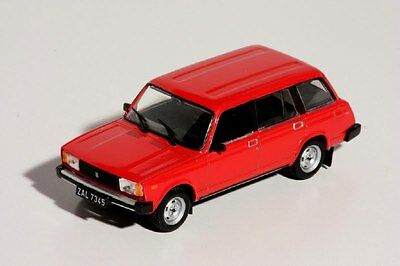 Kombi Fiat 124 Vaz Lada 2104 PL198H Auto 1//43 Ixo Ist Deagostini Polen