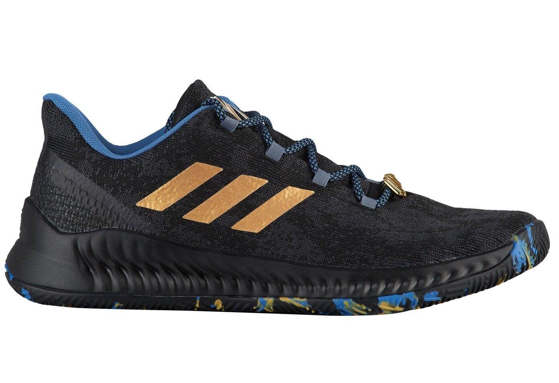 Adidas Harden B/E X MVP Mens F36813 Black Gold Royal Basketball Shoes Comfortable