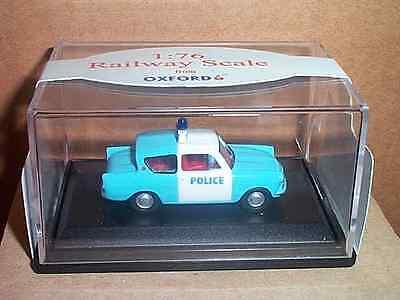 1/76 Oxford Diecast Ford Anglia Limousine Police Panda Kaufe Eins, Bekomme Eins Gratis