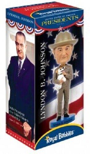 New Lyndon Johnson Bobblehead In Original Gift Box