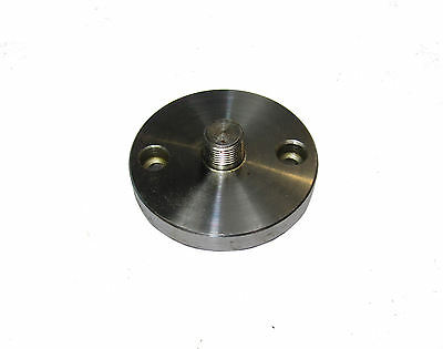 RDGTOOLS ROTARY TABLE ADAPTOR PLATE FOR MYFORD THREAD WITH 2MT STUMPY ADAPTOR