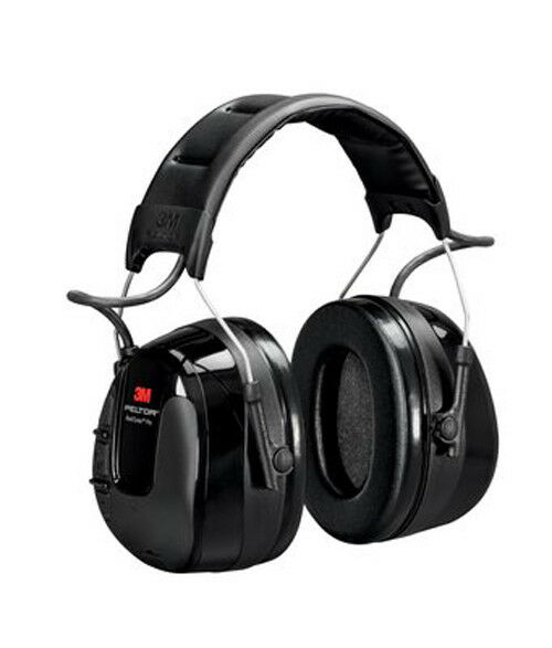 3M PELTOR Worktunes Worktunes PELTOR pro Am Fm Radio Auriculares 32Db Negro Diadema Hrxs221a b0fc1b