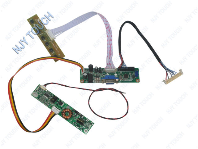 VGA LVDS LCD Controller Driver Board Kit For M215H3-L01 1920x1080 10P LED Screen