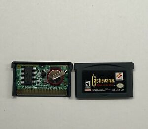 Castlevania-Circle-of-the-Moon-Nintendo-GameBoy-Advance-AUTHENTIC-SAVES-GBA