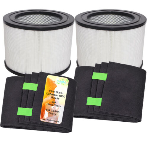 Breathe Naturally Replacement Bundle for Filter Queen Defender 4000 Series