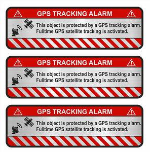 3er-Set-GPS-Object-Alu-Schliff-Aufkleber-Folie-Diebstahlschutz-Alarm-R057
