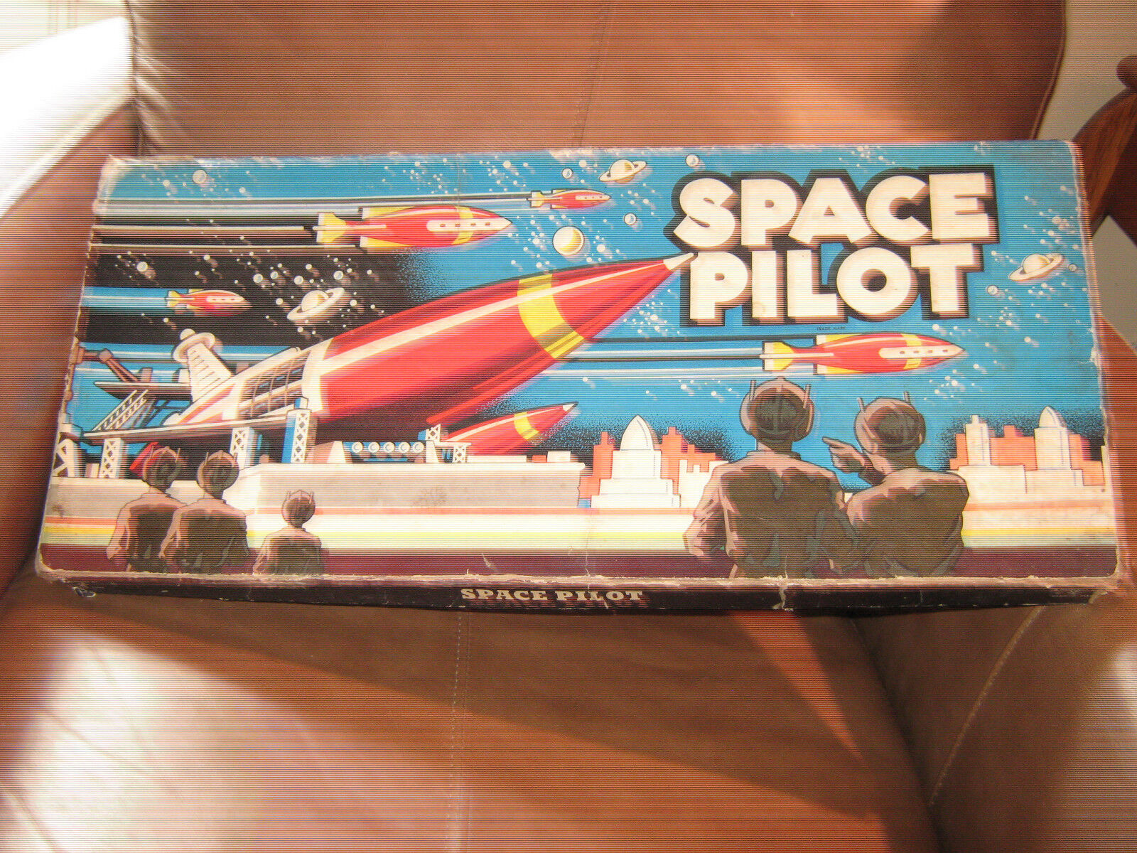 1951 Space Pilot Board Game by Cadaco