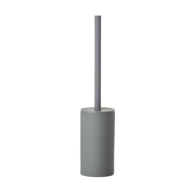 Zone Grau Klobürste Matte Keramik Badezimmer Zubehör Modern