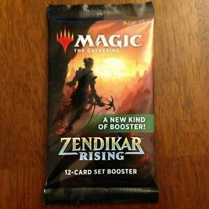 x6 Magic the Gathering Zendikar Rising Booster Packs Factory Sealed