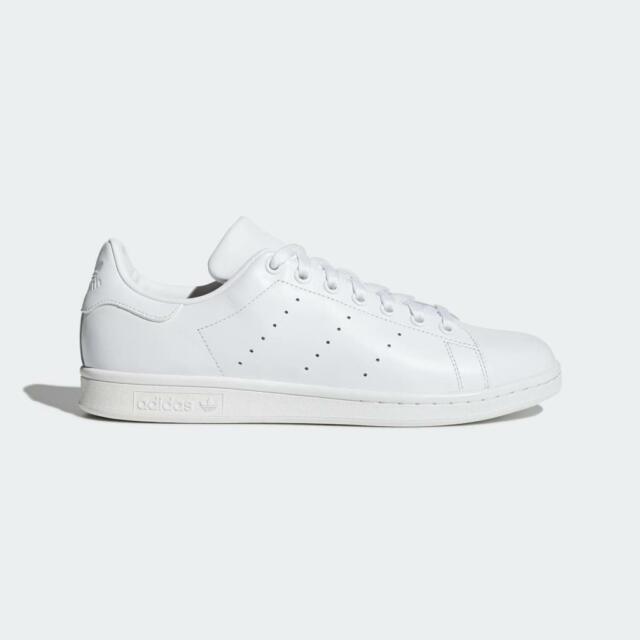 S75104 New Adidas Men/'s Originals Stan Smith Shoes White //// White-White