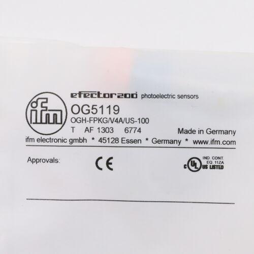 Ifm electronic OG5119 Reflexlichttaster mit Hintergrundausblendung