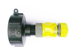 IBC-ADAPTER-to-1-2-034-Snap-on-Push-Fit-Garden-Hose-Connector-c-w-Female-Connector
