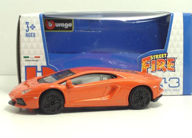 Bburago 30010 Street Fire Lamborghini Aventator LP-700-4 Arancio - METAL 1:45