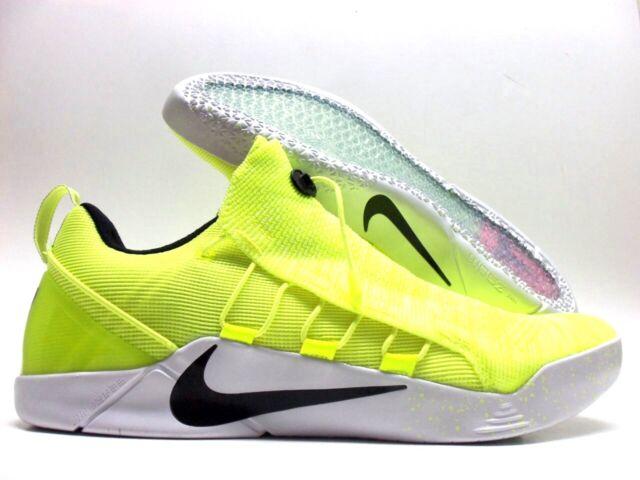 75525209f582 Nike Kobe A.d NXT HMD Sz 14 Flyknit Zoom Basketball Royal Volt white ...