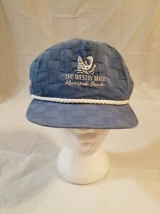Details About The Westin Kaanapali Beach Maui Hawaii Trucker Hat Cap Made In Usa