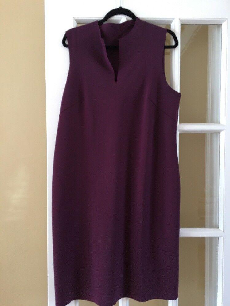 MARIA PINTO lila  Sleeveless Shift Dress Größe XL