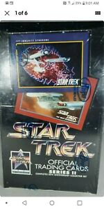 Star-Trek-Official-Trading-Cards-Series-II-25th-Anniversary-Box-Factory-Sealed