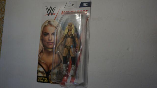 Mattel WWE Serie 92 Edición de figuras de acción Mandy Rose Oficial Licenciado
