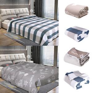 Details Zu Tagesdecke Bett Uberwurf Decke 100 Baumwolle Steppdecke Sofauberwurf 1206