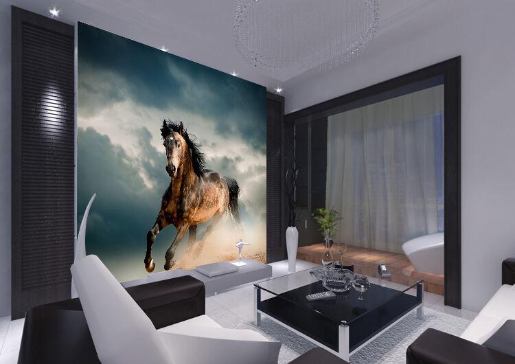3D Horse Running Nature 337 Wall Paper Wall Print Decal Wall AJ WALLPAPER CA