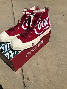 6cf072dde2fc Kith x Converse x Coke - Chuck Taylor 70s All Star - RED White sz ...
