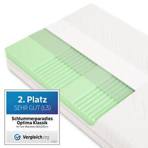 matratze ca 19cm 7 zonen hr kaltschaummatratze rg40 schlummerparadies g nstig ebay. Black Bedroom Furniture Sets. Home Design Ideas