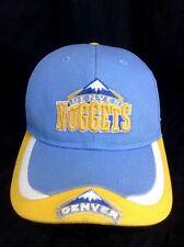 Denver Nuggets Strapback Hat Team NBA Cotton Cap Baby Blue Basketball